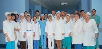 Врачи ортопедо-травматологического отделения