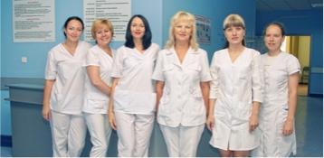 Медсестринский коллектив ортопедо-травматологического отделения