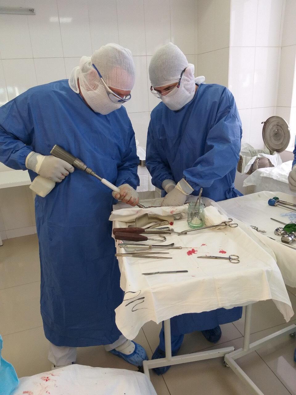 Эндопротезирование тазобедренного сустава - операция